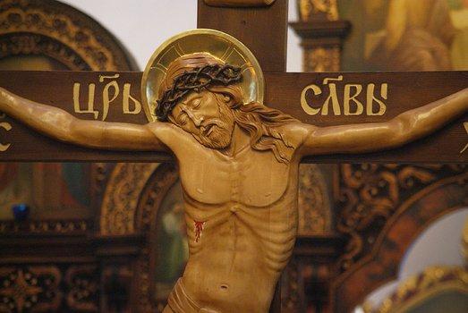 Второй чин пассии в Покровской церкви Городище