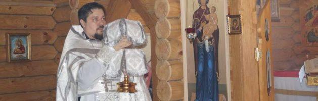 В Михайло-Архангельском храме села Вышелей Городищенского района почтили память преподобного Алексия, человека Божия
