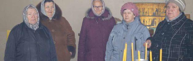 В Никольском молитвенном доме села Верхний Шкафт Городищенского района совершено Таинство Елеосвящения