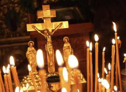 В приписных молитвенных домах прихода Покровской церкви города Городище совершилось пасхальное поминовение усопших