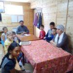 Занятие по храмоведению в младшей группе воскресной школе Восход