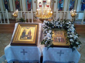 В Покровскую церковь г. Городище прибыли мощи святых Петра и Февронии Муромских