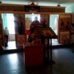 Божественная литургия в домовом храме великомученика Пантелеимона при Городищенской РБ