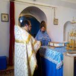 Воскресное всенощное бдение в Покровской церкви г. Городище