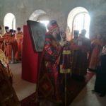 Божественная литургия в день памяти святых царственных страстотерпцев в Стяжкино Пензенской области