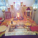 Престольный праздник в храме-часовне мученика Виктора г. Городище