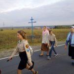 Крестный ход от г. Городище до с. Канаевки
