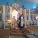Божественная литургия в Городище