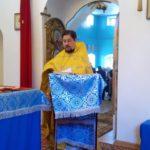 Божественная Литургия в Покровской церкви г. Городище