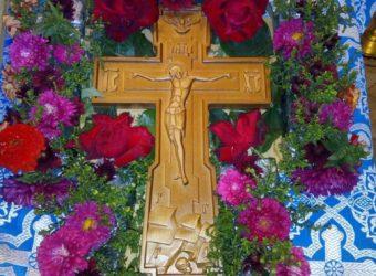 Праздник Воздвижения Честного и Животворящего Креста Господня в Покровской церкви г. Городище