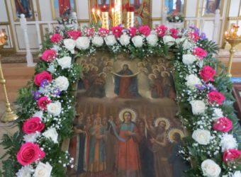 Престольный праздник в Покровской церкви г. Городище