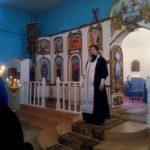 Божественная Литургия в Покровской церкви Городище Пензенской области