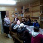 Занятия в воскресной школе ВОСХОД Покровской церкви г. Городище