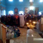 Крещение Господне в Покровской церкви г. Городище